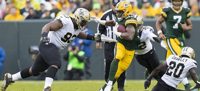 Green Bay Packers vs. New Orleans Saints NFL best bets