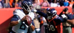Tennessee Titans vs. Denver Broncos NFL MNF Betting Lines & Predictions