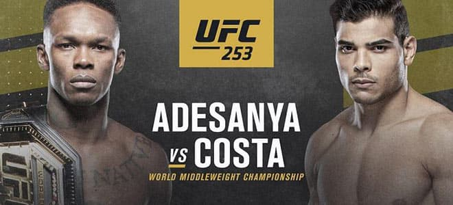 UFC 253 Betting Guide: Israel Adesanya vs. Paulo Costa Odds and Picks