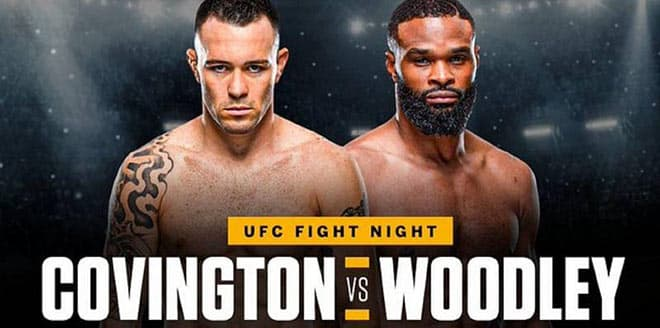 Tyron Woodley vs. Colby Covington UFC Fight Night betting preview