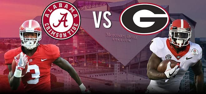 Georgia Bulldogs vs. Alabama Crimson Tide NCAA Football betting preview, odds and picks