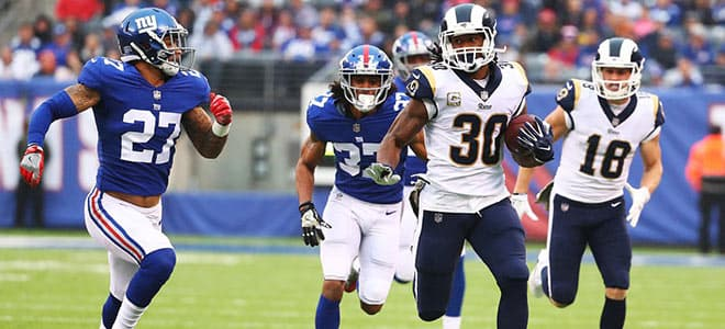 New York Giants vs. Los Angeles Rams NFL betting, odds and predictions
