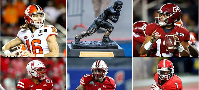 2020 Heisman Trophy Odds to Win - Top Candidates for Betting