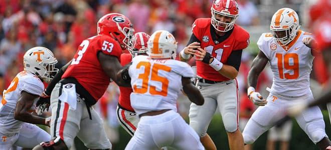 Tennessee Volunteers vs. Georgia Bulldogs College Football betting, odds and picks