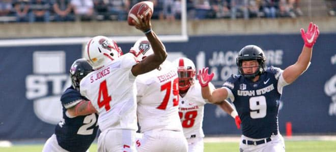 New Mexico Lobos vs. Utah State Aggies College Football best bets, odds and picks