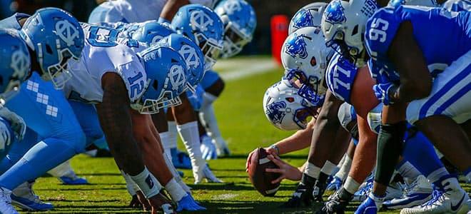 North Carolina Tar Heels vs. Duke Blue Devils NCAA Football betting odds and predictions
