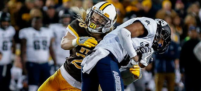 Utah State Aggies vs. Wyoming Cowboys NCAAF betting preview and odds