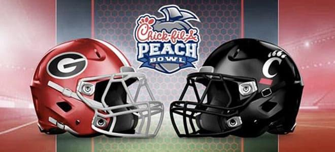 2021 Chick-fil-A Peach Bowl: Cincinnati vs. Georgia betting odds and picks
