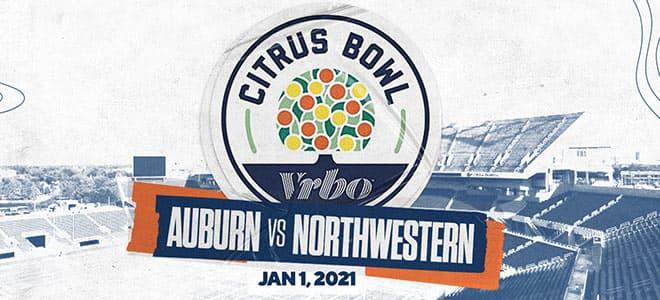 2021 Citrus Bowl Betting: Auburn vs. Northwestern Odds and Picks