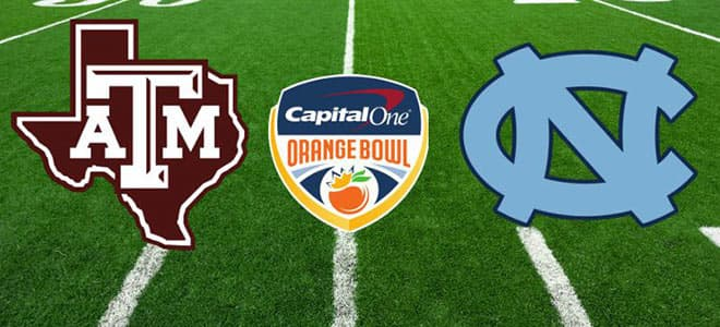 Texas A&M vs. North Carolina 2021 Orange Bowl betting odds and picks