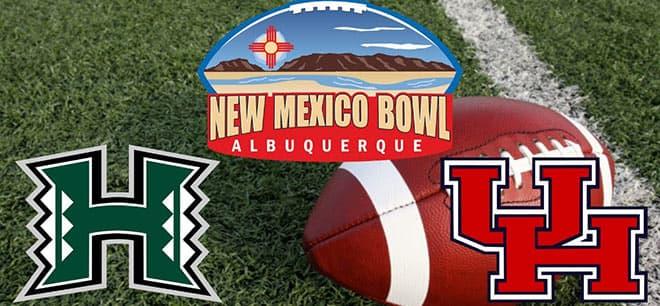 Hawaii Rainbow Warriors vs. Houston Cougars - 2020 New Mexico Bowl Odds and Picks