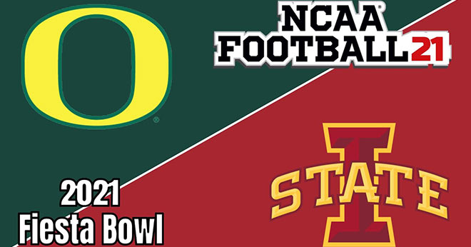 Oregon Ducks vs. Iowa State Cyclones 2021 Fiesta Bowl Odds and Betting Lines