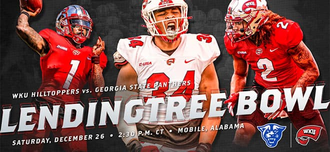 WKU Hilltoppers vs. Georgia State LendingTree Bowl 2020 Odds and Predictions