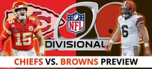 NFL Divisional Playoff Betting: Latest Chiefs vs. Browns Game Analysis, Odds and Picks