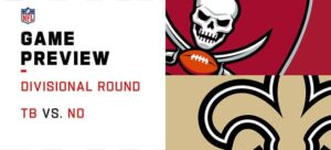 Buccaneers vs. Saints NFL Divisional Round Odds, Betting Predictions & Picks