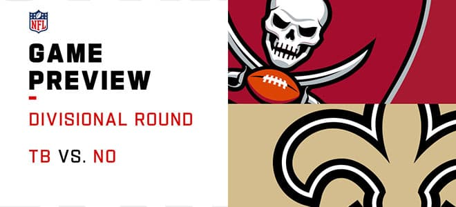 NFL Divisional Playoffs: Tampa Bay Buccaneers vs. New Orleans Saints Odds and Picks