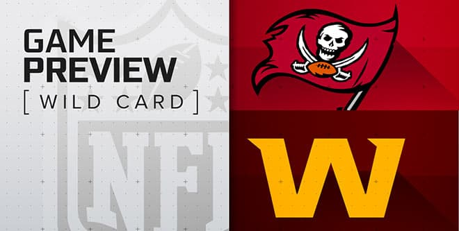 NFL Wild Card: Tampa Bay Buccaneers vs. Washington Football Team game preview, odds and picks