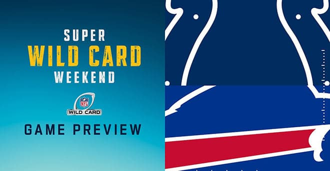 NFL Wild Card Betting Preview: Indianapolis Colts vs. Buffalo Bills Odds