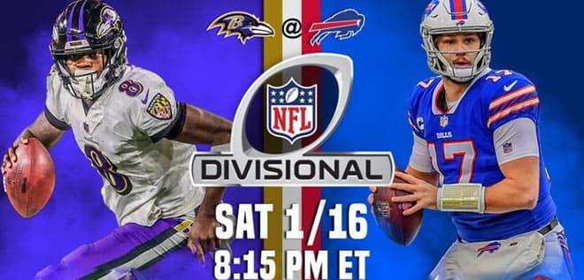 NFL Divisional Playoffs: Baltimore Ravens vs. Buffalo Bills Odds and Picks
