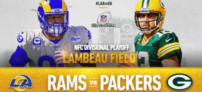 NFL Divisional Playoffs: Los Angeles Rams vs. Green Bay Packers odds and picks