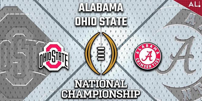Alabama vs. Ohio State CFP Championship Game odds and picks