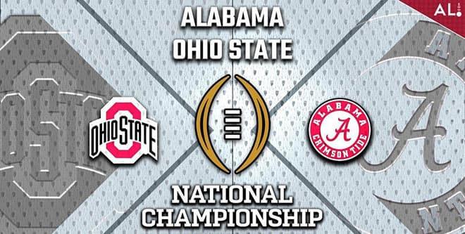 Alabama vs. Ohio State CFP Championship Game odds and picks