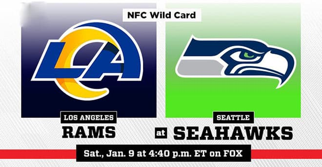 NFL Wild Card: Los Angeles Rams vs. Seattle Seahawks betting preview and odds