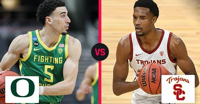 2021 Sweet Sixteen Betting: Oregon Ducks vs. USC Trojans Odds and Picks