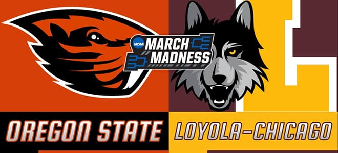 Oregon State Vs. Loyola Chicago Sweet Sixteen Latest Odds