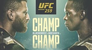 Błachowicz vs. Adesanya UFC 259, MMA Betting Odds, Predictions and Analysis