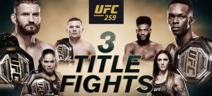 Latest UFC 259 Main Card Betting Odds And Picks