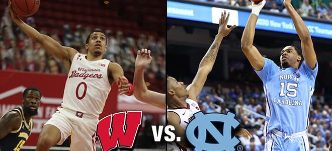 Wisconsin vs. North Carolina March Madness Round 1 Odds and Picks