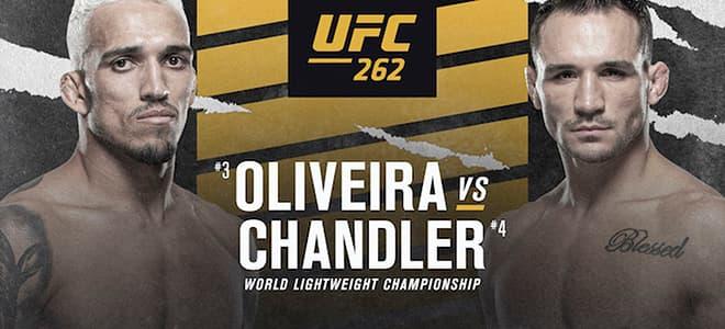 UFC 262 Main Card Latest Betting Odds
