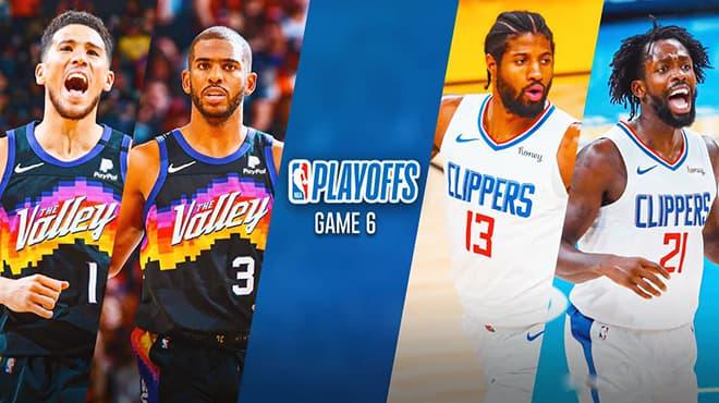 Phoenix Suns vs. LA Clippers NBA Playoffs Game 6 Odds