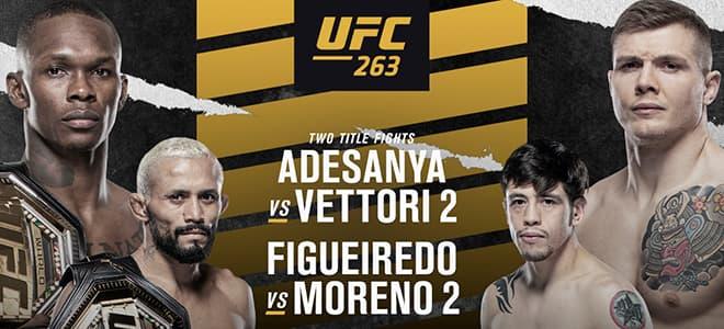 UFC 263 Main Card Betting Odds & Expert Picks