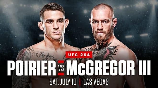 UFC 264: Poirier vs. McGregor 3 Odds and Picks